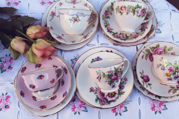 Vintage Teaware Hire in South Essex